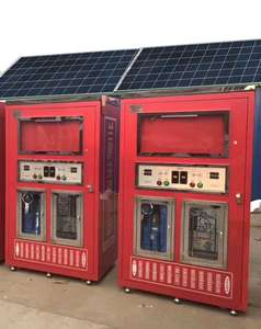 Solar Powered Water Purified Vending Machine