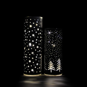 Hot sale illuminated handmade home glass decoration with different types