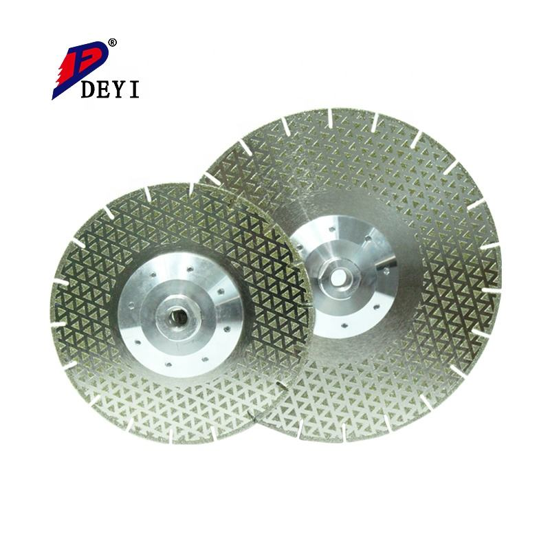 "Beijing Deyi lowest price 5"" Marble Electroplated Diamond Saw Blade Cutting Disc"