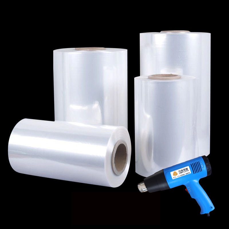 Eco-friendly Biodegradable Plastic Material Polyolefin PoF Shrink Film Tube Bags