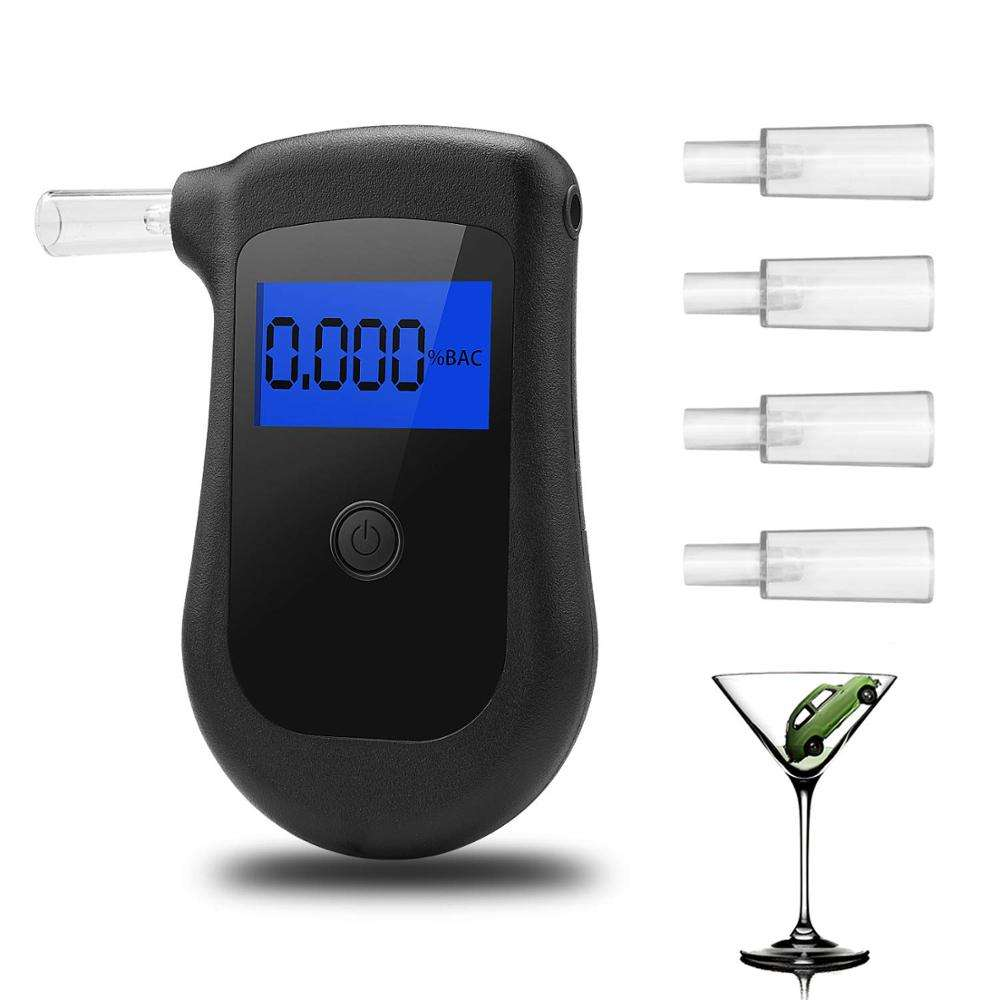 New best portable digital breath alcohol tester/breathalyzer