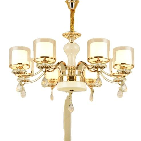 European classical decorative pattern crystal and best metal material chandelier pendant light