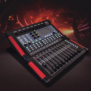 Newest 16 channel mixer digital audio for recording studio with optical fiber input