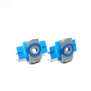 High Quality Solar Fastener Zinc Plated Carbon Steel Combo Nut Washer Channel Nut Strut Channel Nuts With Plastic Wing
