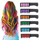 Washable Safe Hair Dye For Party Gift Temporary Hair Chalk Comb