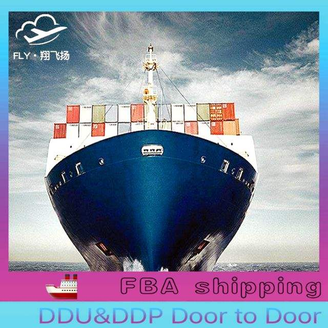 To door FBA Amazon dropshipping cargo DDU/DDP shipping sea freight forwarder cheapest charge/rates ocean transportation to USA