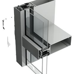 Aluminum curtain wall manufacturer for Commercial and residential Building