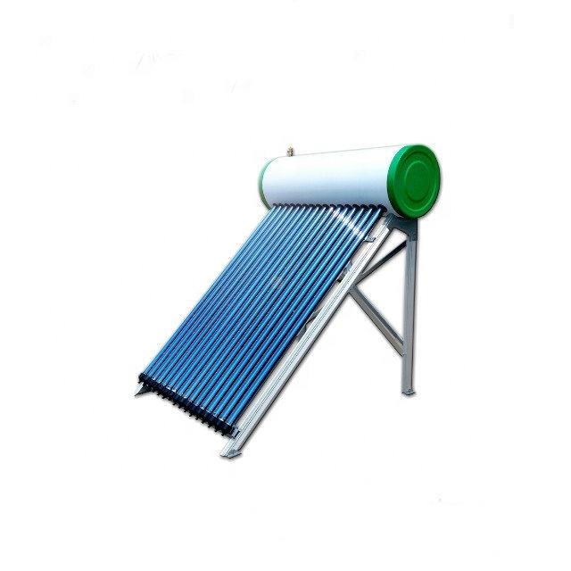 JIAJIARE High Quality Refreshing Heat Pipe Evacuated Tube Pressurized Solar Water Heater Approved by EN12976 And Solar Keymark