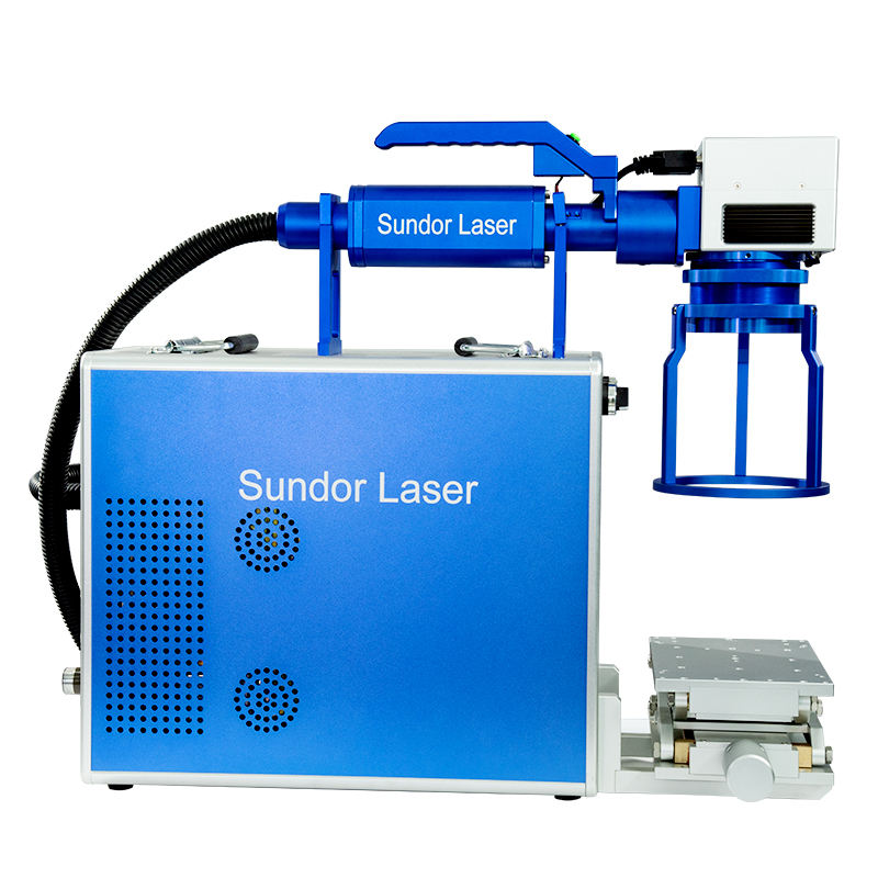 portable memory card fiber laser marking machine 20w 30w 50w wholesale big discount