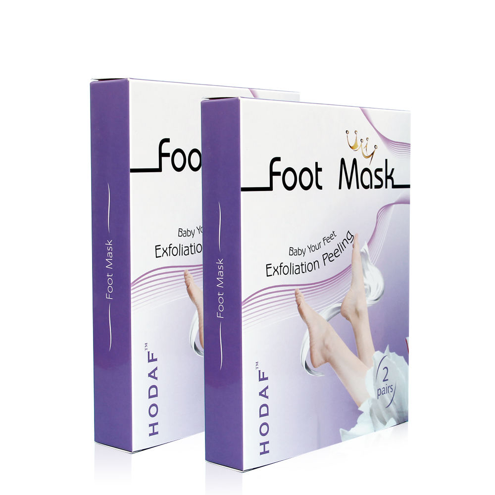 HODAF amazon Hot selling Wholesale Foot Exfoliating Peeling Mask Baby Foot Peeling Mask