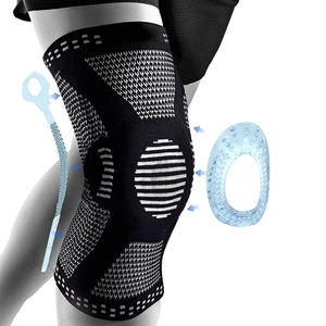 Neoprene breathable compression orthopedic knee brace support knee sleeve