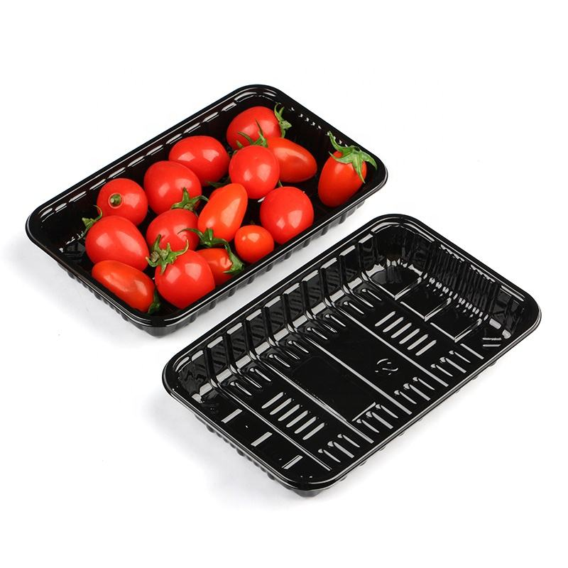 Fish/Seafood/Meat/Fruit With Absorbent Pad Plastic Frozen Food Packaging Tray