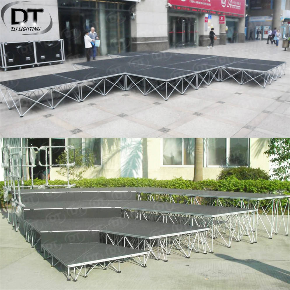 Podium In Stage Ballroom Podium Portable Outdoor Stage Used Stage For Sale Manufacture In China