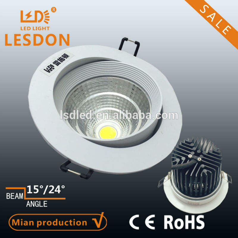 Cutout 120mm ceiling light round 28w led down light