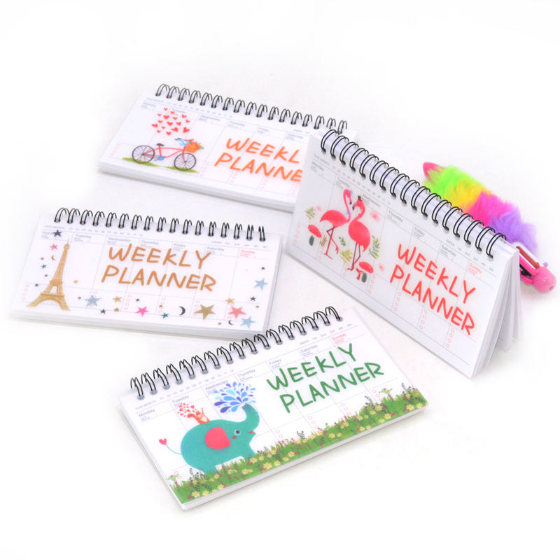Daily Weekly Monthly Planner Spiral A5 Notebook Time Memo Planning Organizer Agenda School Office