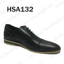 XLY, formal pointed toe police duty military shoes cow leather office men dress shoes HSA132