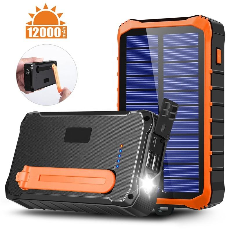 OEM Beautiful Hot Sale Consumer Electronics Commonly Used Solar Power Bank Charger