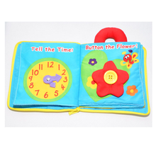 2020 New Arrival Hot sale wholesale children books educational and eco-friendly fabric baby soft cloth book