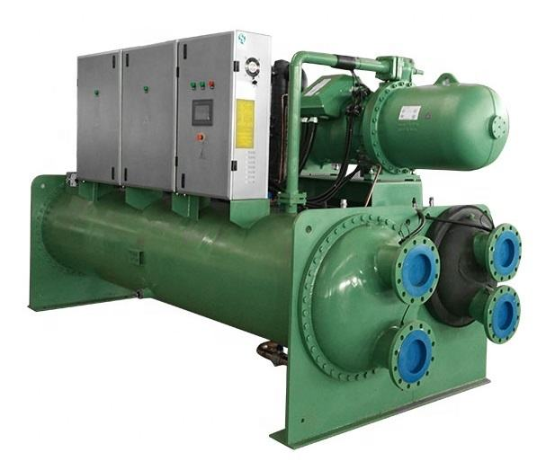 200 tons water cooled screw chiller,made by real factory