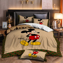 Best Sale Luxury New Design Famous Brand 3d micky mouse prin