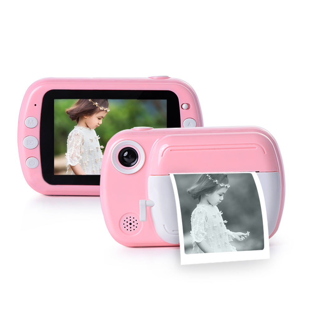 most popular kids gift customizable mini instant printer camera