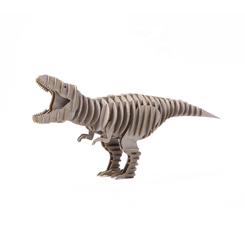 Animal assembly dinosaur toys paper jigsaw model kit 3d puzzle