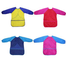 Kids Art Smock with Waterproof Long Sleeves