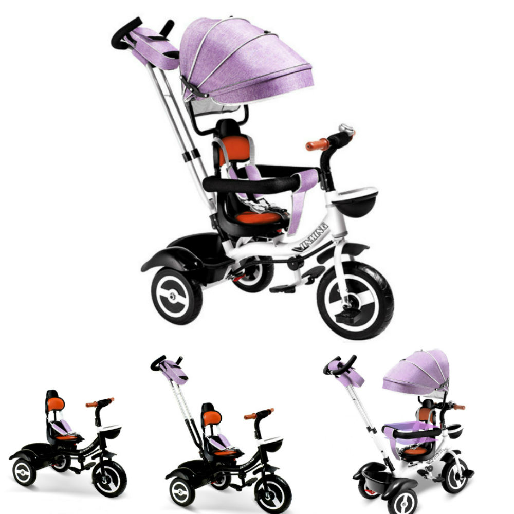 New Design Baby Pedal Folding Ride On Toy Tricycle, Child Three Wheel Tricycle Kid