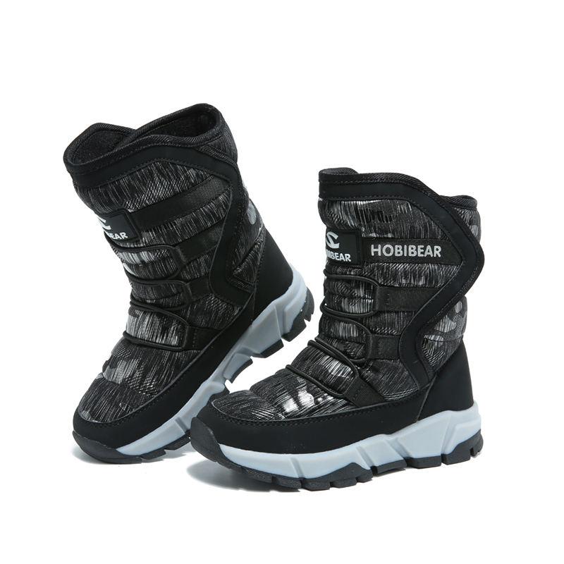 Commercio all'ingrosso Da Trekking Scarpe Per Bambini Adatti Per Bambini Gelido Doposci Per Bambini Lace Up Boots