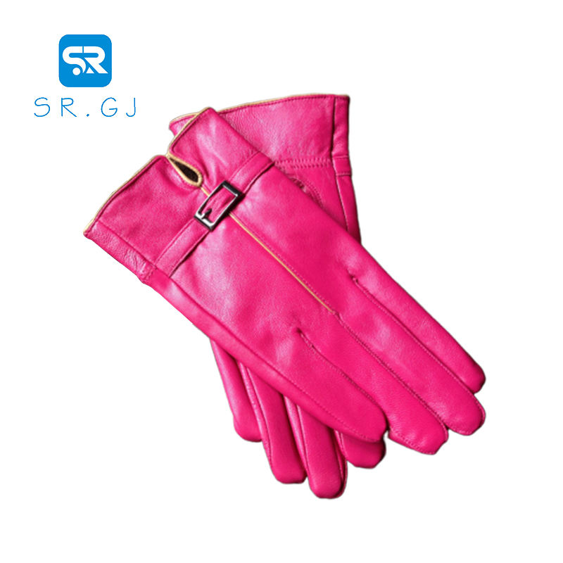 Hot wholesale Superior Safe and reliable winter leather work gloves women long leather gloves sexy leather gloves