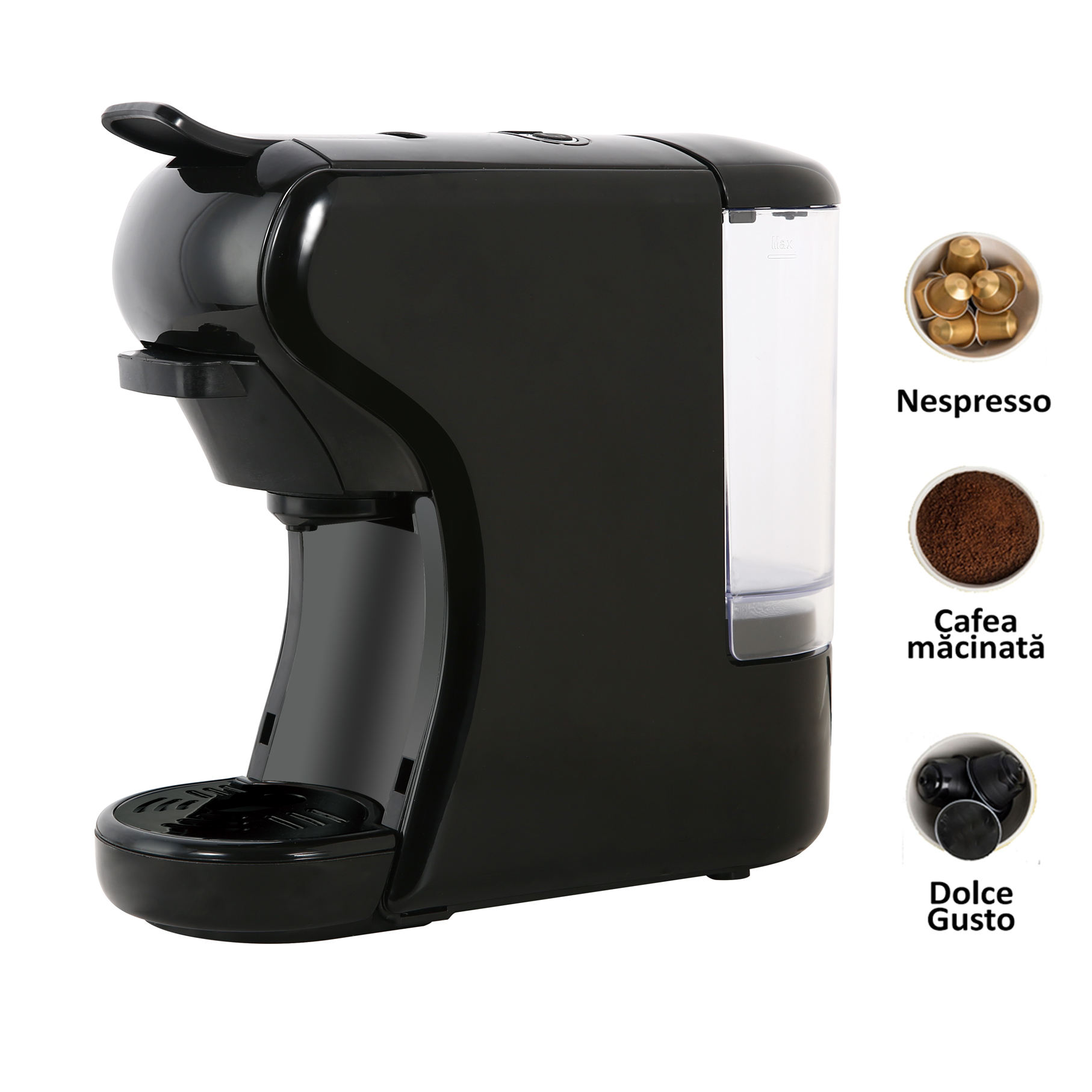 Automatic good quality 3 in 1 espresso coffee machine