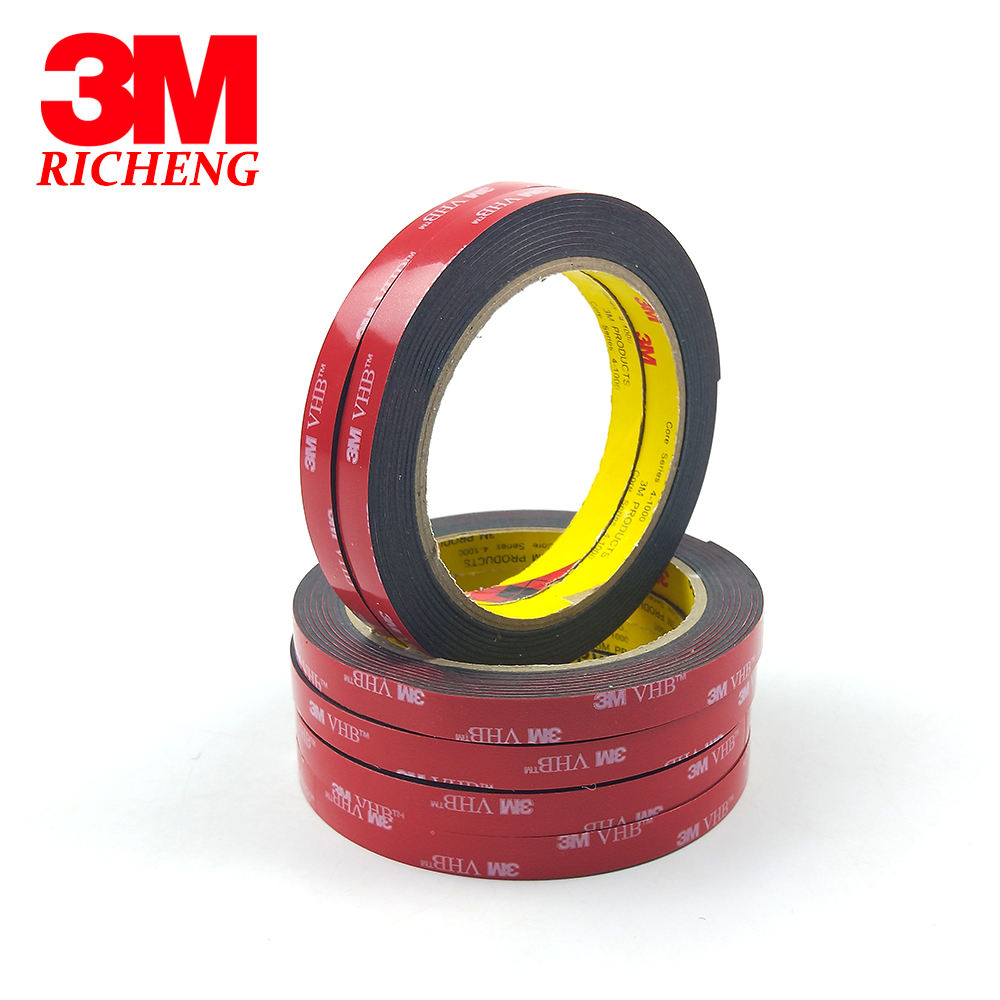Profersonal Slit 5952 3M VHB Tape Heavy Duty Mounting Indoor Outdoor Use Black Tape High Sticky Waterproof Acrylic Foam Tape