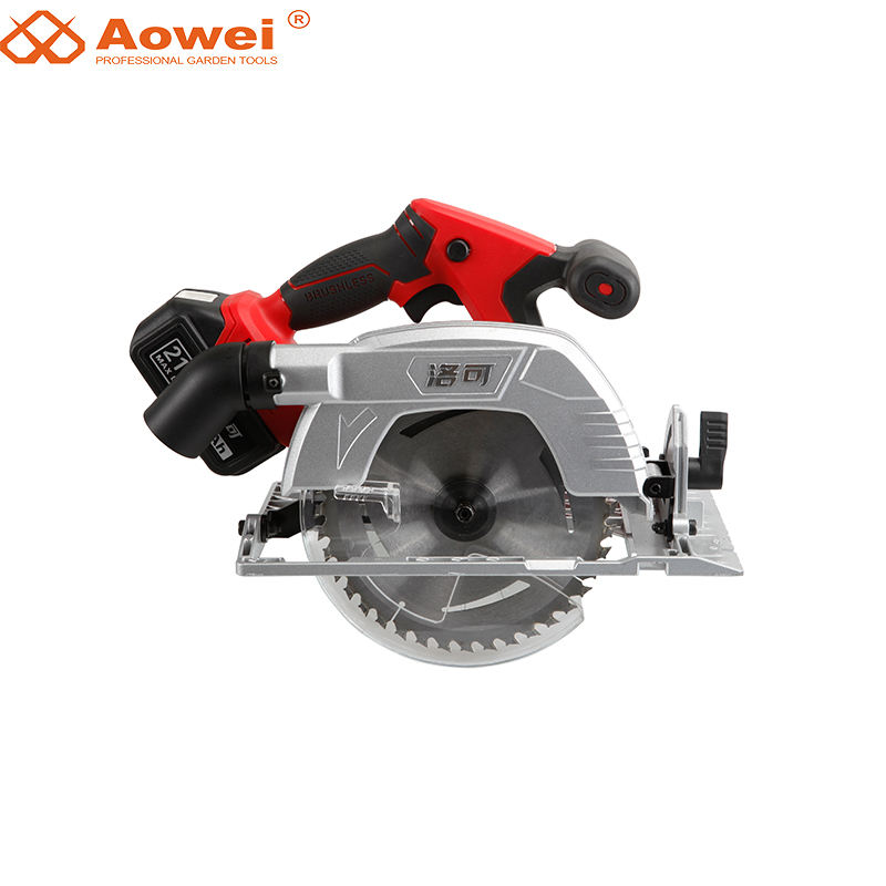 Aowei Manufacturerpower Tools 18V Li-Ion Battery Cordless Circular Saw Electric Saw