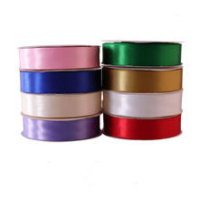"3/4"" satin ribbon Polyester ribbon can be customized logo"