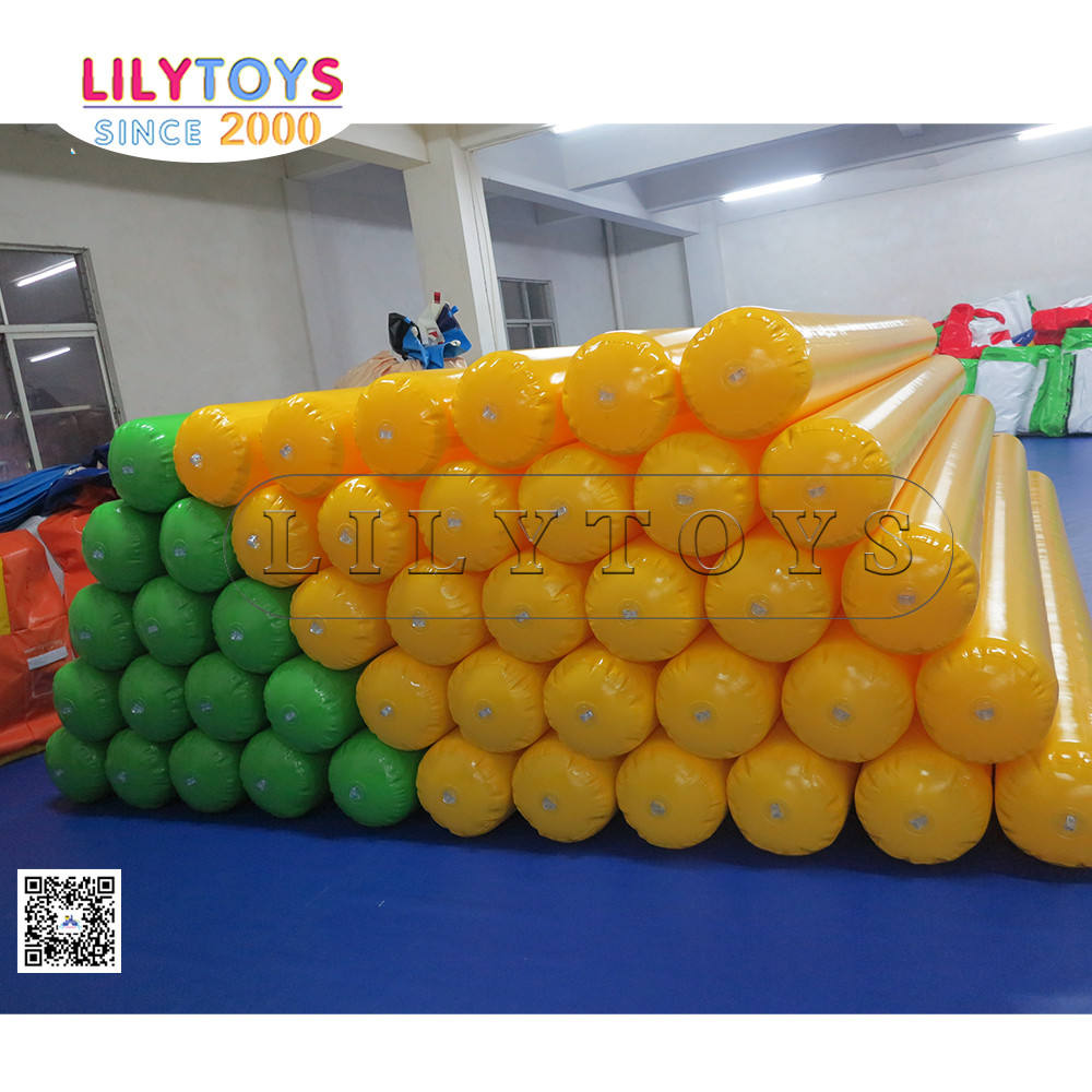 Inflatable water toys inflatable guide, Floating Pipe for aqua park
