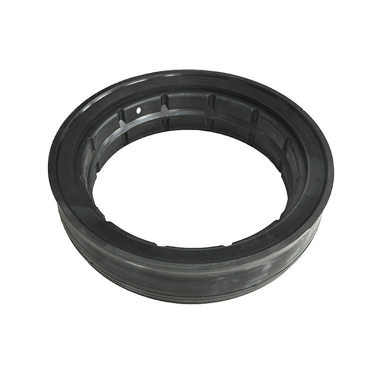 Adhesive to metal parts FKM lock rubber gasket Hollow tire