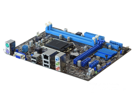 Original Used mainboard for Asus H61M-E Desktop Motherboard H61 Socket LGA 1155 i3 i5 i7 DDR3 16G uATX UEFI BIOS