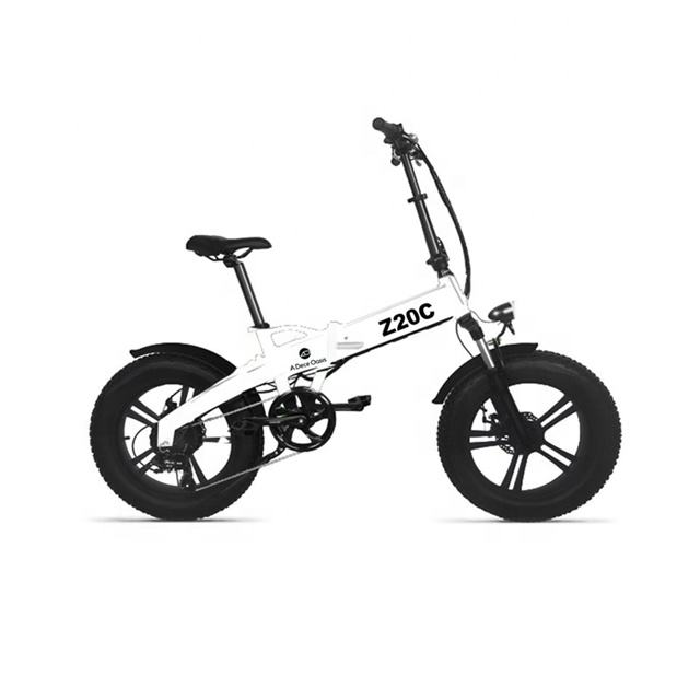 2021 Wholesale 20 Inch Fat Tire Electric Ebike Mid Drive ADO Z20C Folding Electric Bicycle