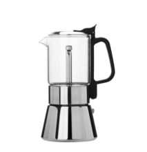 BPA Free Stocked Cafetera Expresso Moka Pot Maker Coffeemaker
