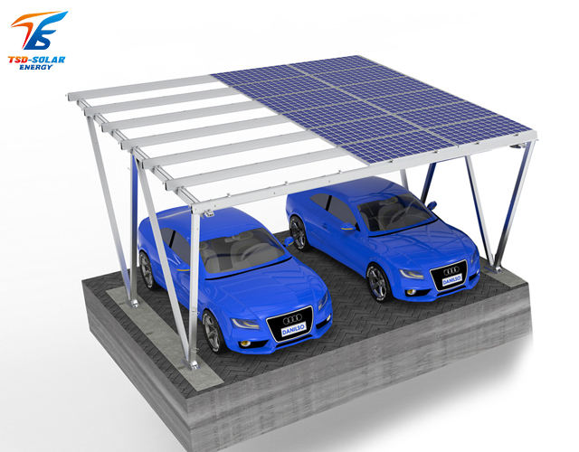 High Degree of pole mount solar light roof mounted residential solar systems (Two Cars)