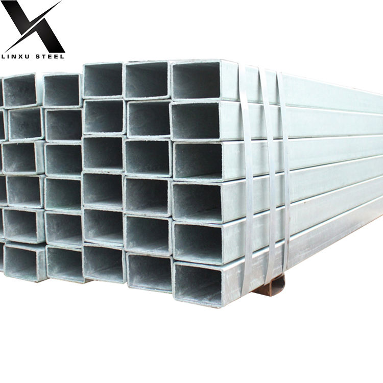 galvanized rectangular pipe cold rolled pre galvanized welded square / rectangular steel pipe/tube/hollow section