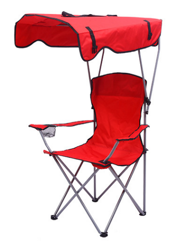 Outdoor Portable Camping Chair Camping Barbecue Picnic Fishing Ultra-light Ground Stand Camping Trip