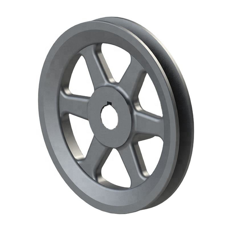 ISO9001 Belt Machinery Grey Iron Cast Iron Pulley BK52 Sheaves