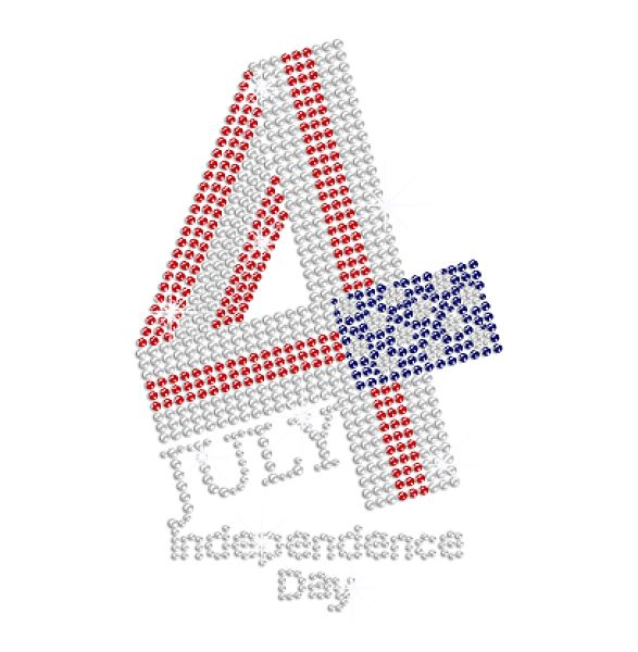 Amerikaanse <span class=keywords><strong>Vlag</strong></span> Juli 4 Crystal Independence Day Strass