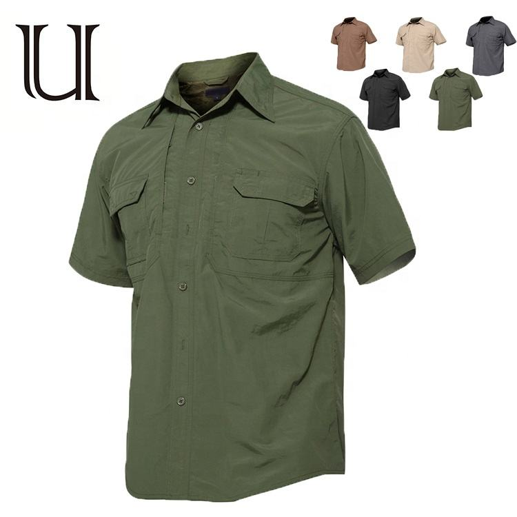 New arrival high quality russian and united states military uniform olive green shirt