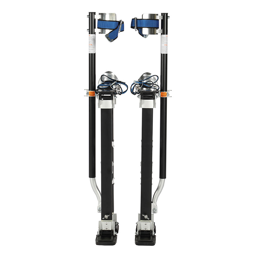 Drywall tools taping 2440 Magnesium Drywall Adjustable Stilts in black Color