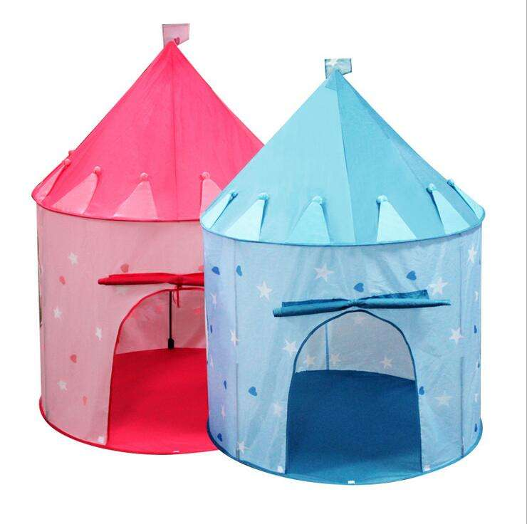 Draagbare Opvouwbare Prins <span class=keywords><strong>Pop</strong></span> Up <span class=keywords><strong>speelgoed</strong></span> <span class=keywords><strong>Tent</strong></span> Kinderen Party Kasteel Cubby Speelhuis Kid play <span class=keywords><strong>tent</strong></span>