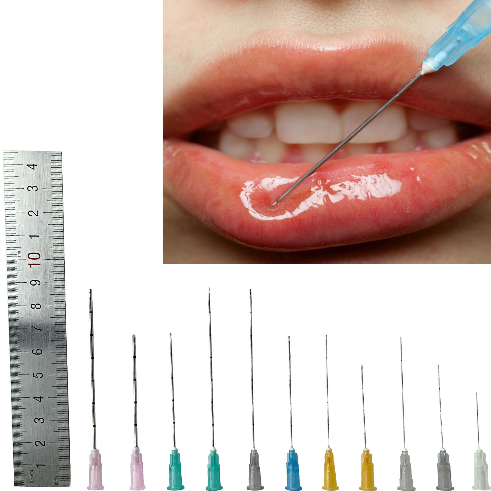 2020 Blunt Needle Tip Micro Canula for Fillers