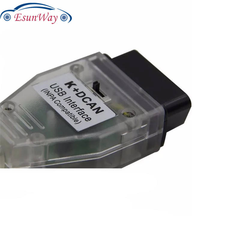 INPA K+CAN DCAN Cable with Switch for BMW Auto OBD2 diagnostic Interface with FT232RQ chip