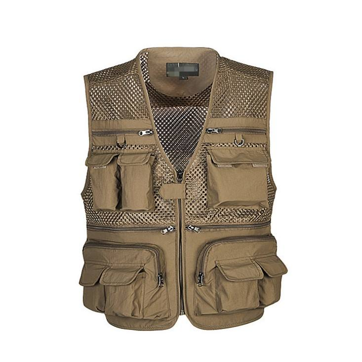 High quality tactical multiple pockets vest for photographer